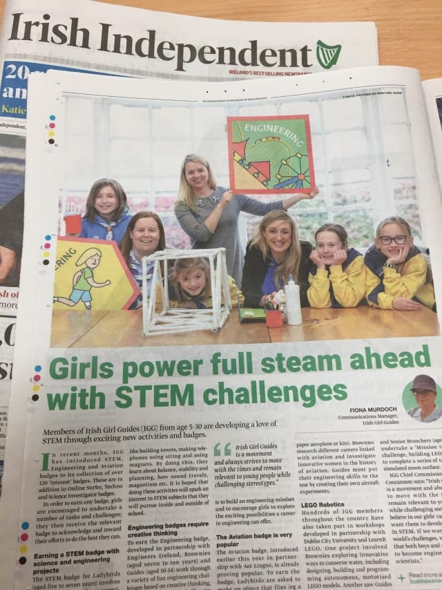 Women In STEM - Irish Girl Guides