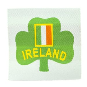 Ireland Badge label