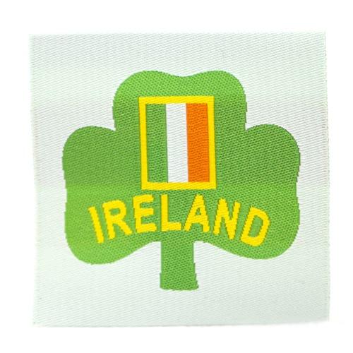 Ireland Badge label